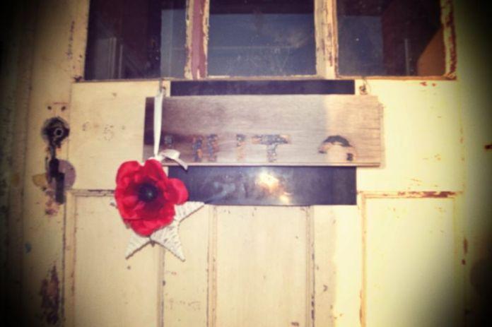 Hut 3 front door