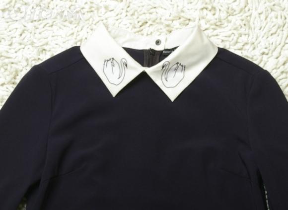 victoria-beckham-2012-fw-swan-collar-silk-dress-c2fe